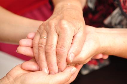 Hände hilfsbereit