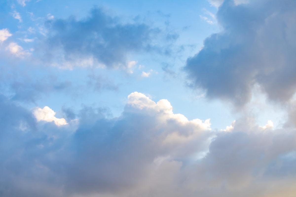 Wolken über Spich