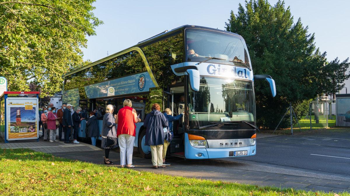 Bus nach Duisburg