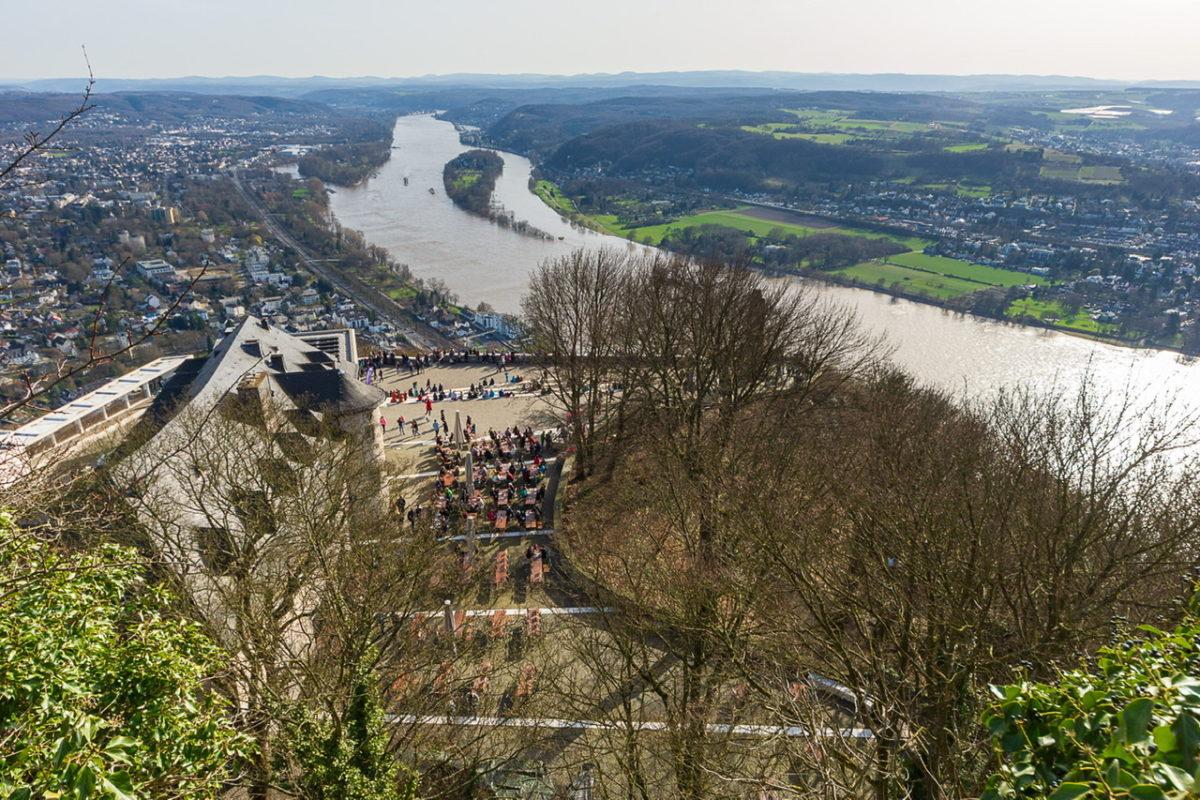 Ein toller Ausblick von der Burgruine